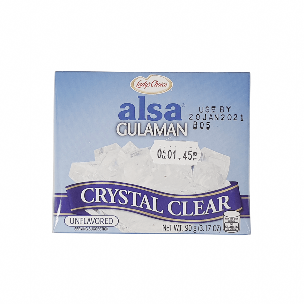 Lady's Choice Alsa Gulaman Crystal Clear 90g